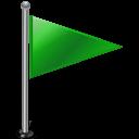green, flag, rightgreen icon