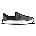 Vans Curls Grey icon