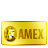 card, credit, amex, gold, bank icon