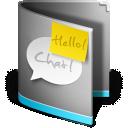 Chat, Folder icon