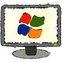 windows,monitor icon