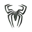 black spider icon