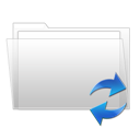 Folder, Sync icon