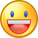 funny, smile, face, fun, emotion, yahoo, emot, smiley, happy icon