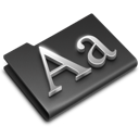 fonts icon