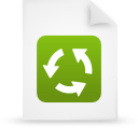 green, document, file, paper icon