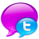logo, twitter, in icon