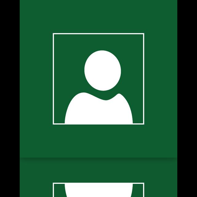 frame, mirror, user icon