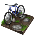 cycling, biking, mountain icon