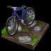 cycling, biking, mountain icon