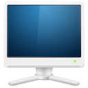 monitor, screen, computer, display icon