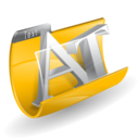 file, document, text icon