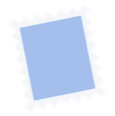 stamp, email, mail icon