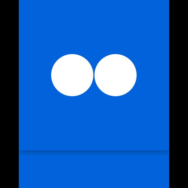 alt, mirror, flickr icon