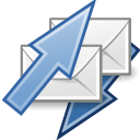 mail, send, receive icon