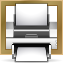 Actions document print frame icon