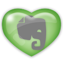 social, evernote, media icon