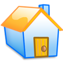 Home, Yellow icon