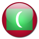 country, maldives, flag icon