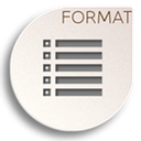 format list ordered icon