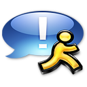Application iChat aqua icon