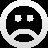 emotion, sad icon