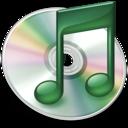 iTunes mint groen icon