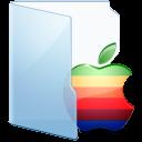 blue, apple icon