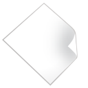 file, blank icon