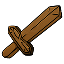 Sword, Wooden icon