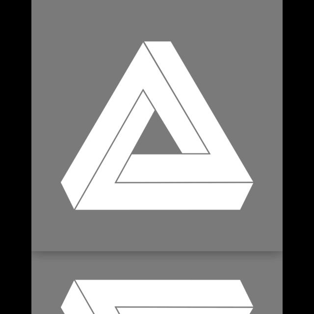 mirror, puzzle icon