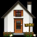 Alt, Home icon
