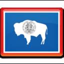 wyoming,flag icon
