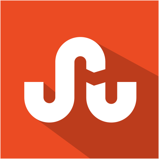 set, shadow, social, flat, media, stumbleupon icon