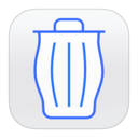 trashcan,full icon