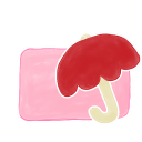 Ak, Candy, Folder, Umbrella icon
