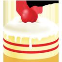 Big, Cake, Cream, Ice icon