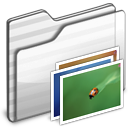 wallpaper,folder,white icon