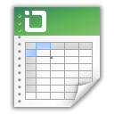 excel, document, spreadsheet, table icon
