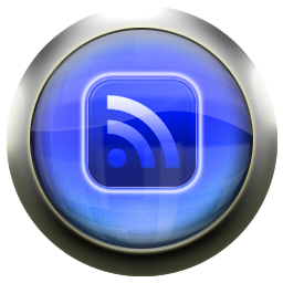 feed, blue, rss, subscribe icon