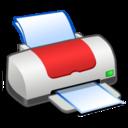 printer,red,print icon