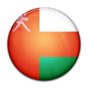country, flag, oman icon