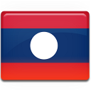 country, laos, flag icon
