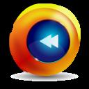 fast rewind icon
