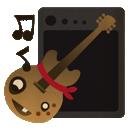garage band, garageband, guitar, rock icon