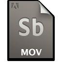 Document, File, Mov, Sb, Secondary icon
