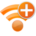 new, radio, wireless, plus, internet, wifi, add icon