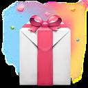Day, Present, Valentine's icon