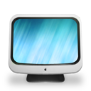 on, based, imac icon