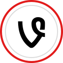 social, brand, vine, logo, media icon
